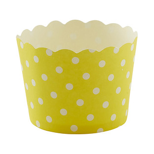 Small Yellow Dots Baking Cups
