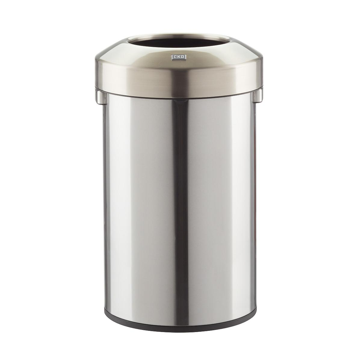 Stainless Steel 15.8 gal./60L Open-Top Commercial Can