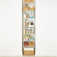 White Elfa Reach-In Pantry Product Image