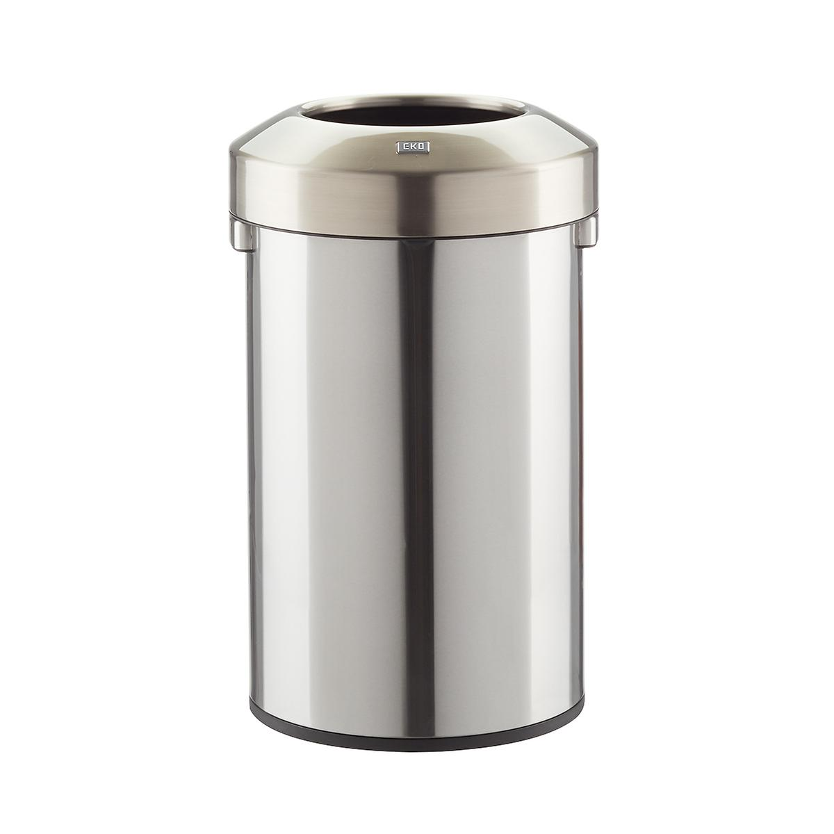 Stainless Steel 23.7 gal./90L Open-Top Commercial Can