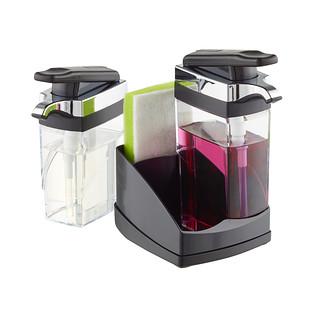 Casabella Sink Sider Duo Soap Dispenser