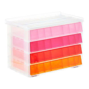 Pink Lemonade 4-Drawer Storage Unit