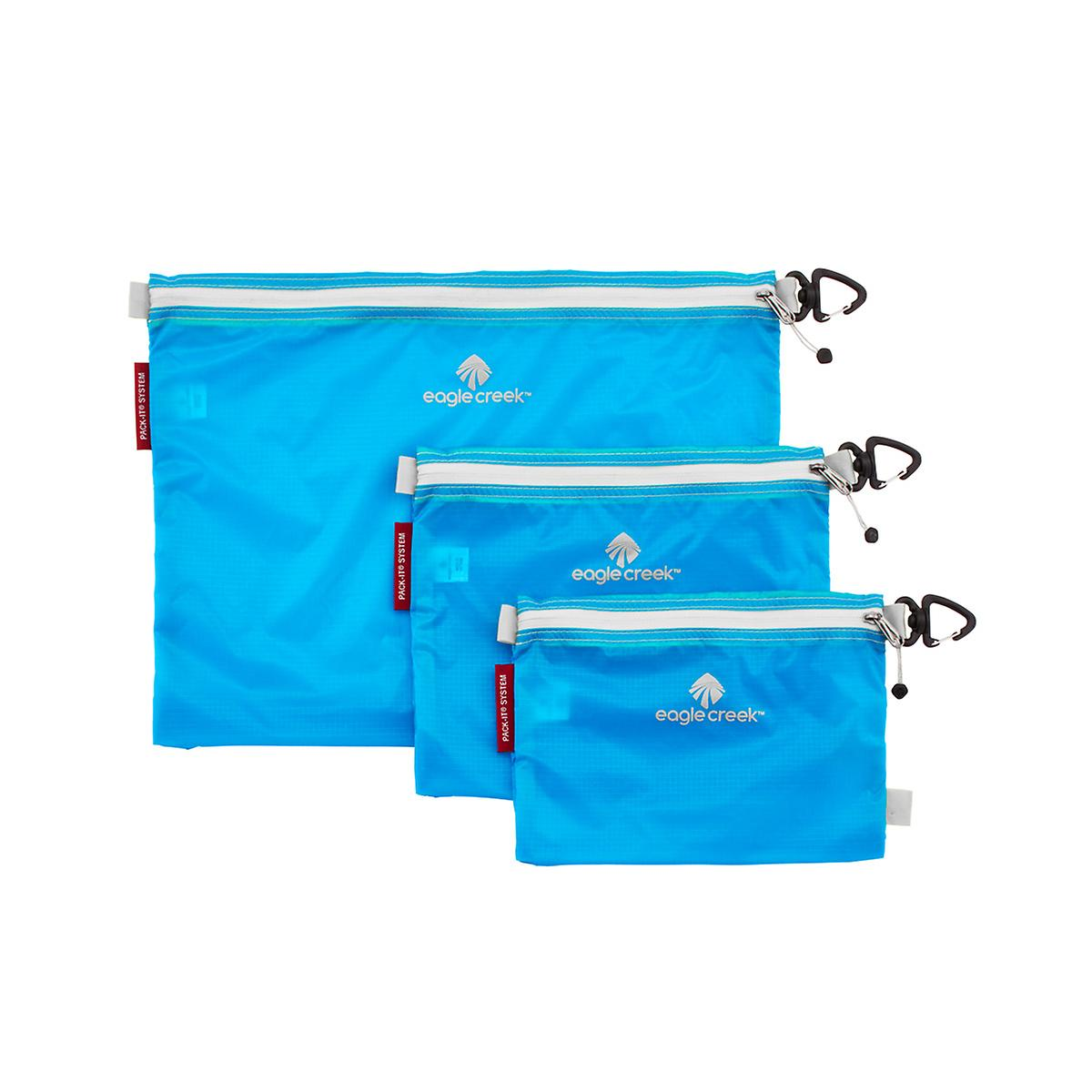 Eagle Creek Brilliant Blue Specter Pack-It Sacs Set