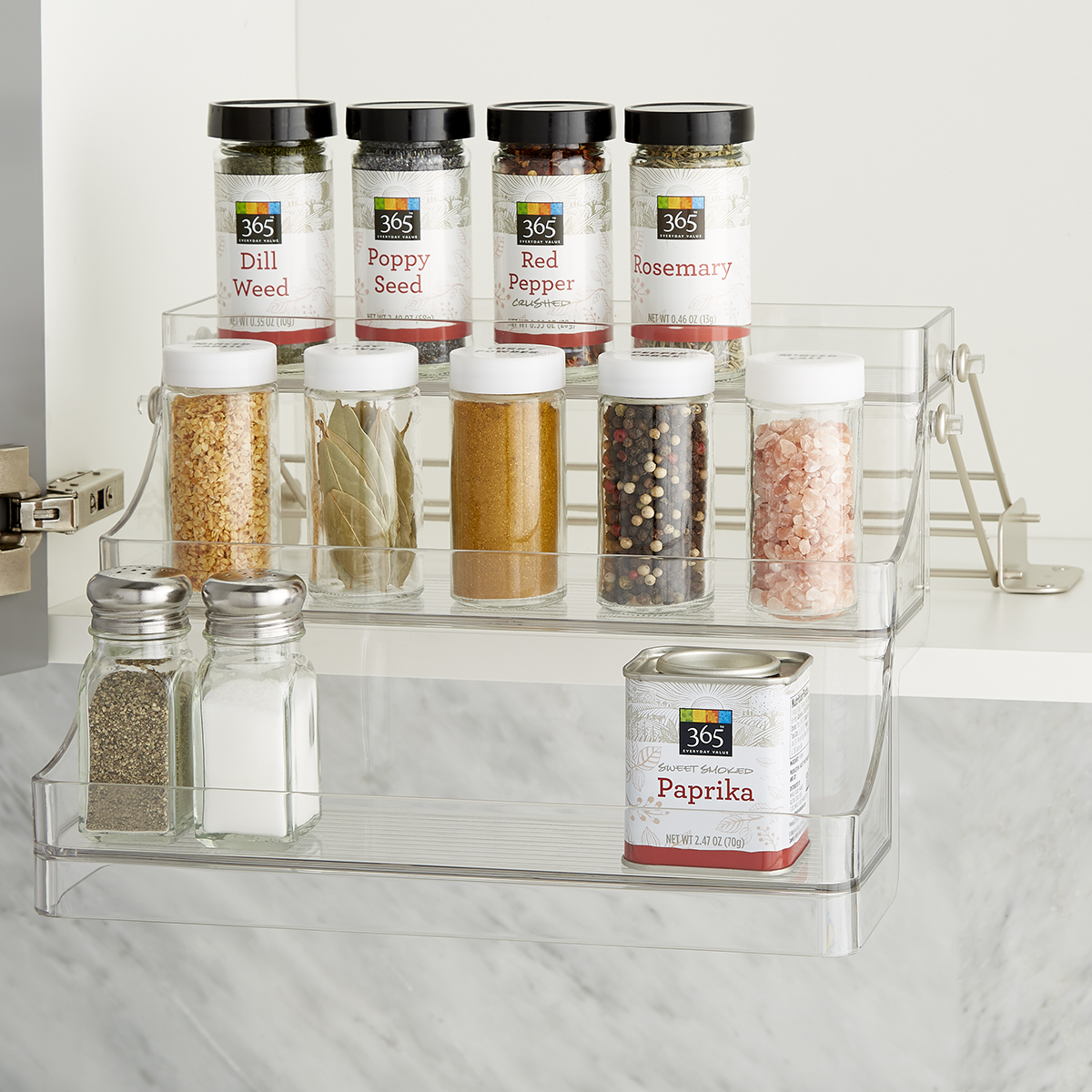 iDesign Linus Easy-Reach Spice Rack