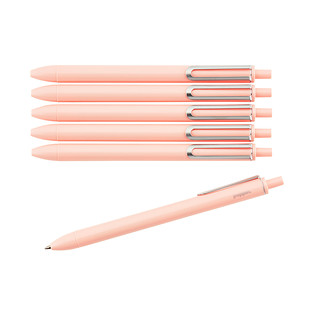 Poppin Blush Retractable Luxe Gel Pens