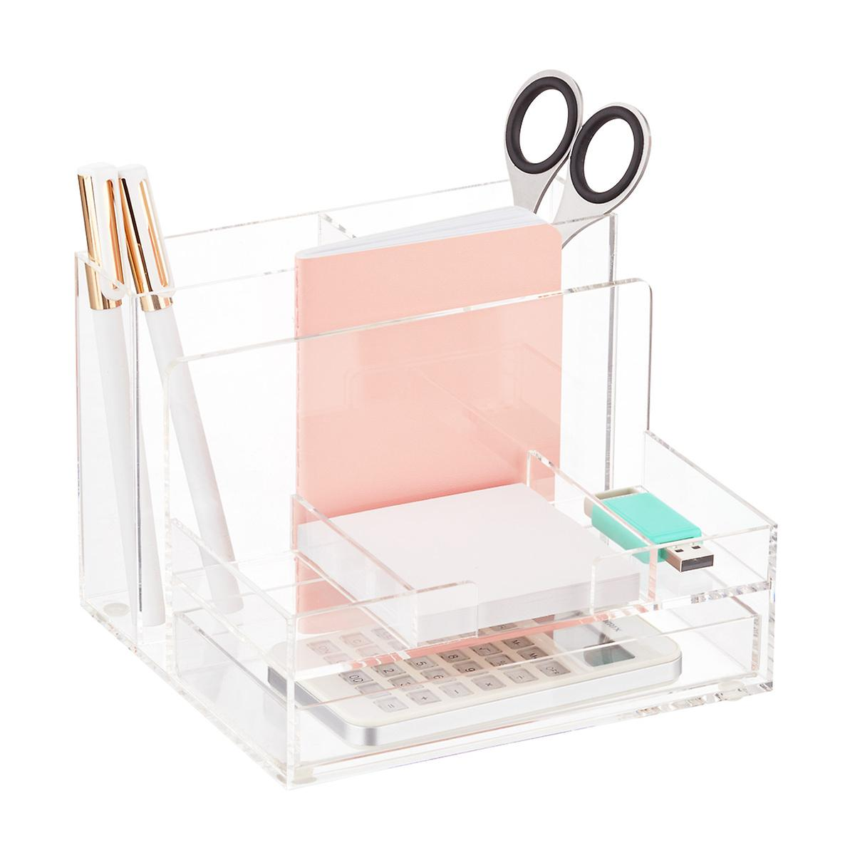 Small Acrylic Desktop Organizer