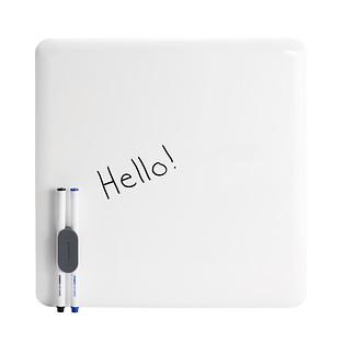 Poppin Metal Dry Erase Board Plate