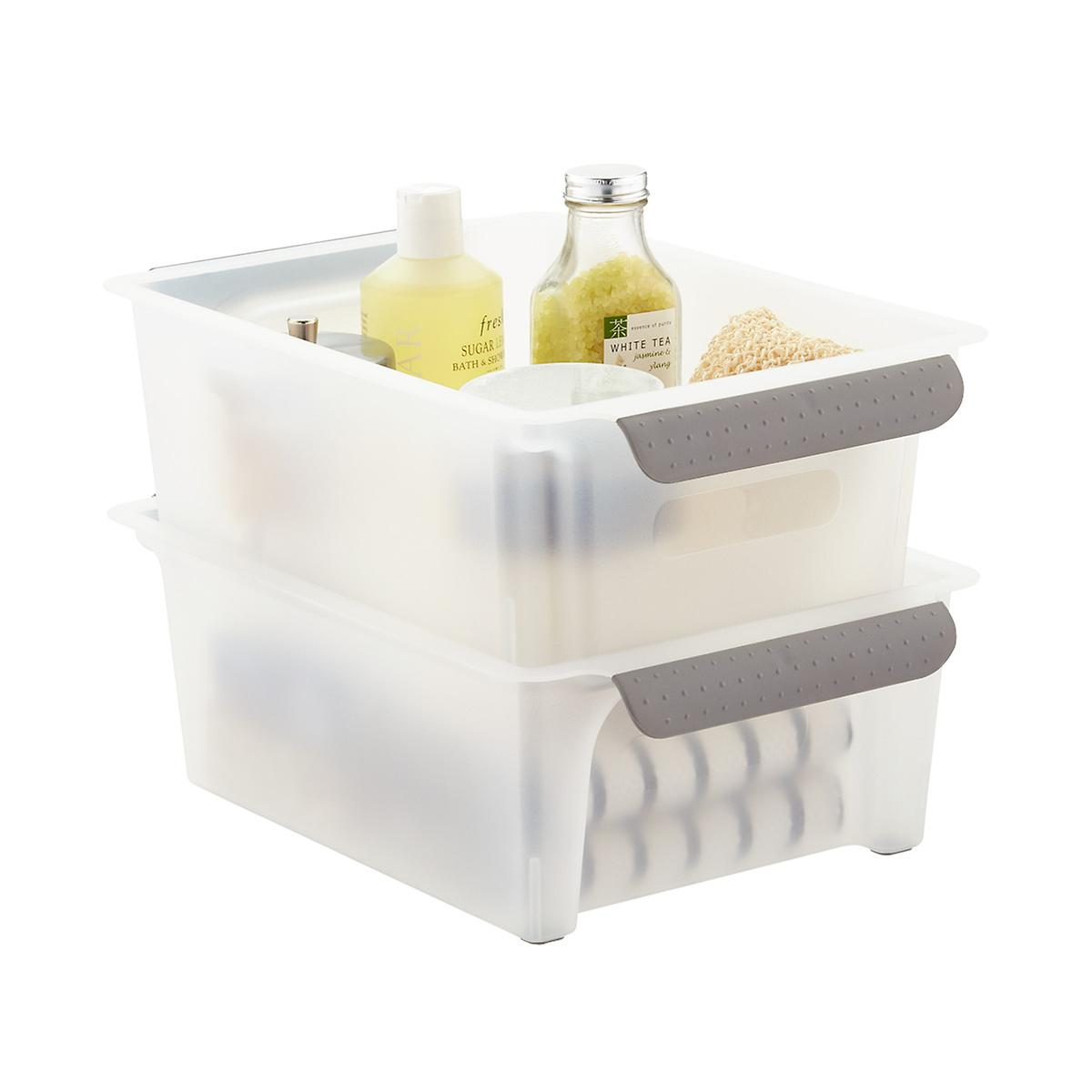 Madesmart Flip &Amp; Stack Storage Bin by Container Store