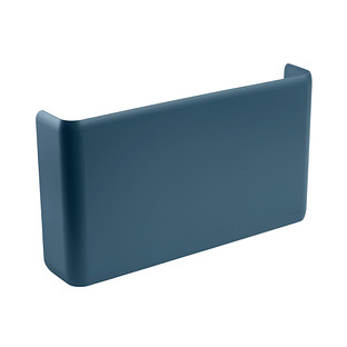 Slate Blue Poppin Magnetic Wall File Pocket