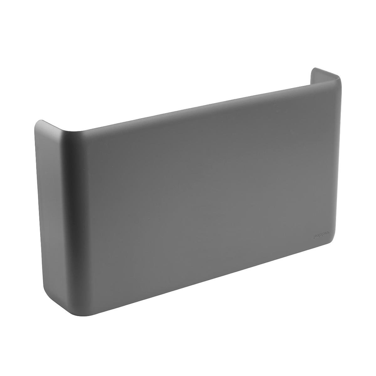 Dark Grey Poppin Magnetic Wall File Pocket