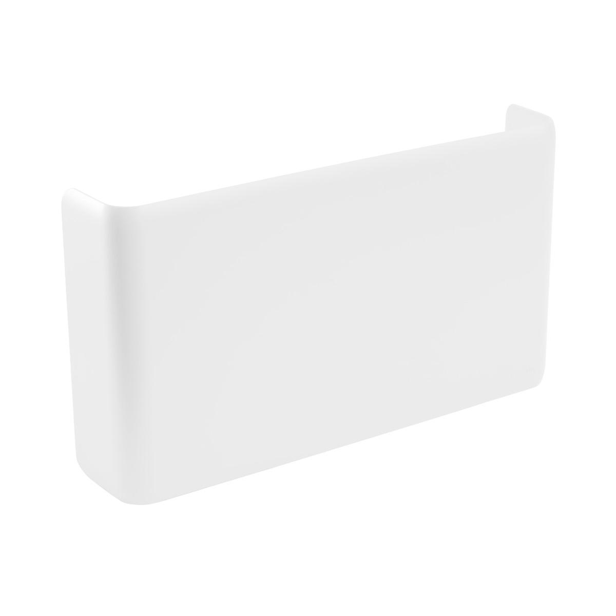 White Poppin Magnetic Wall File Pocket
