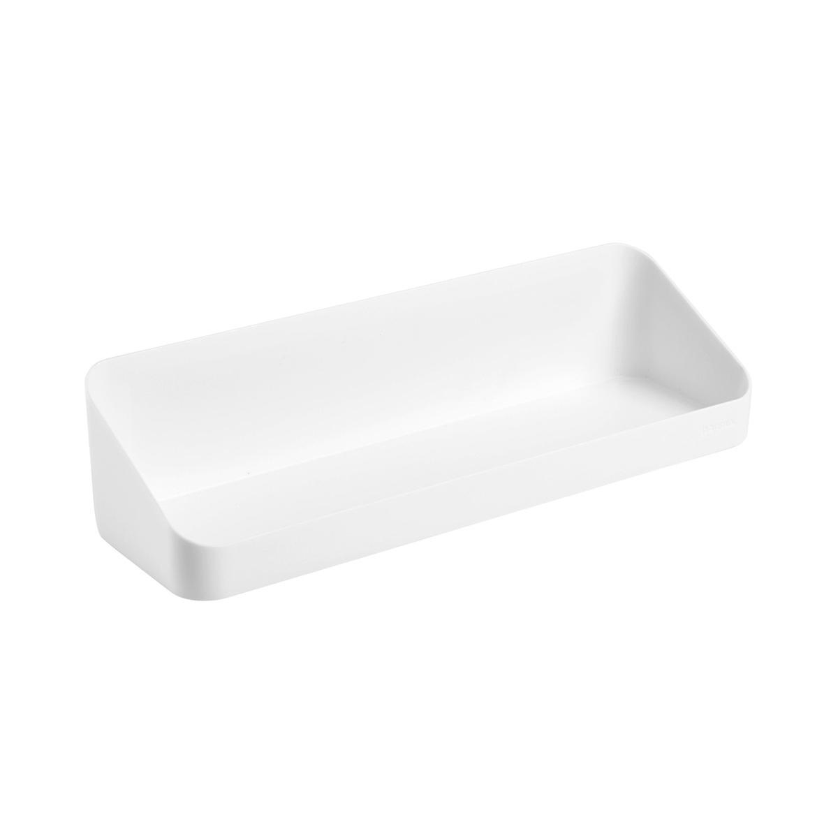 White Poppin Magnetic Wall Shelf