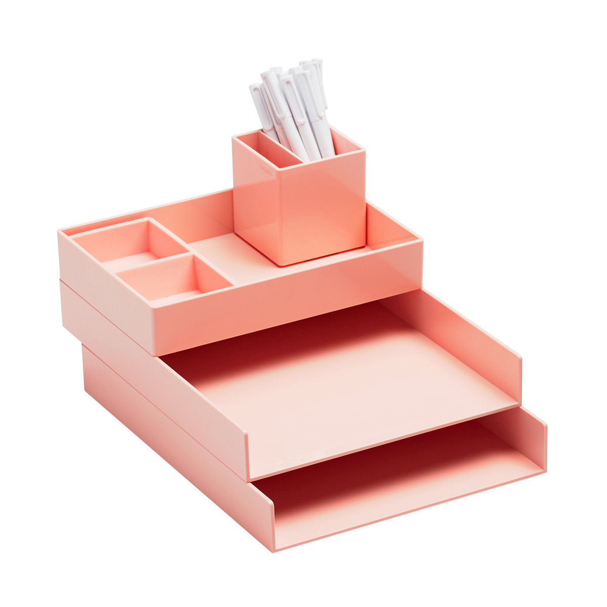 Blush Poppin Letter Tray Starter Kit