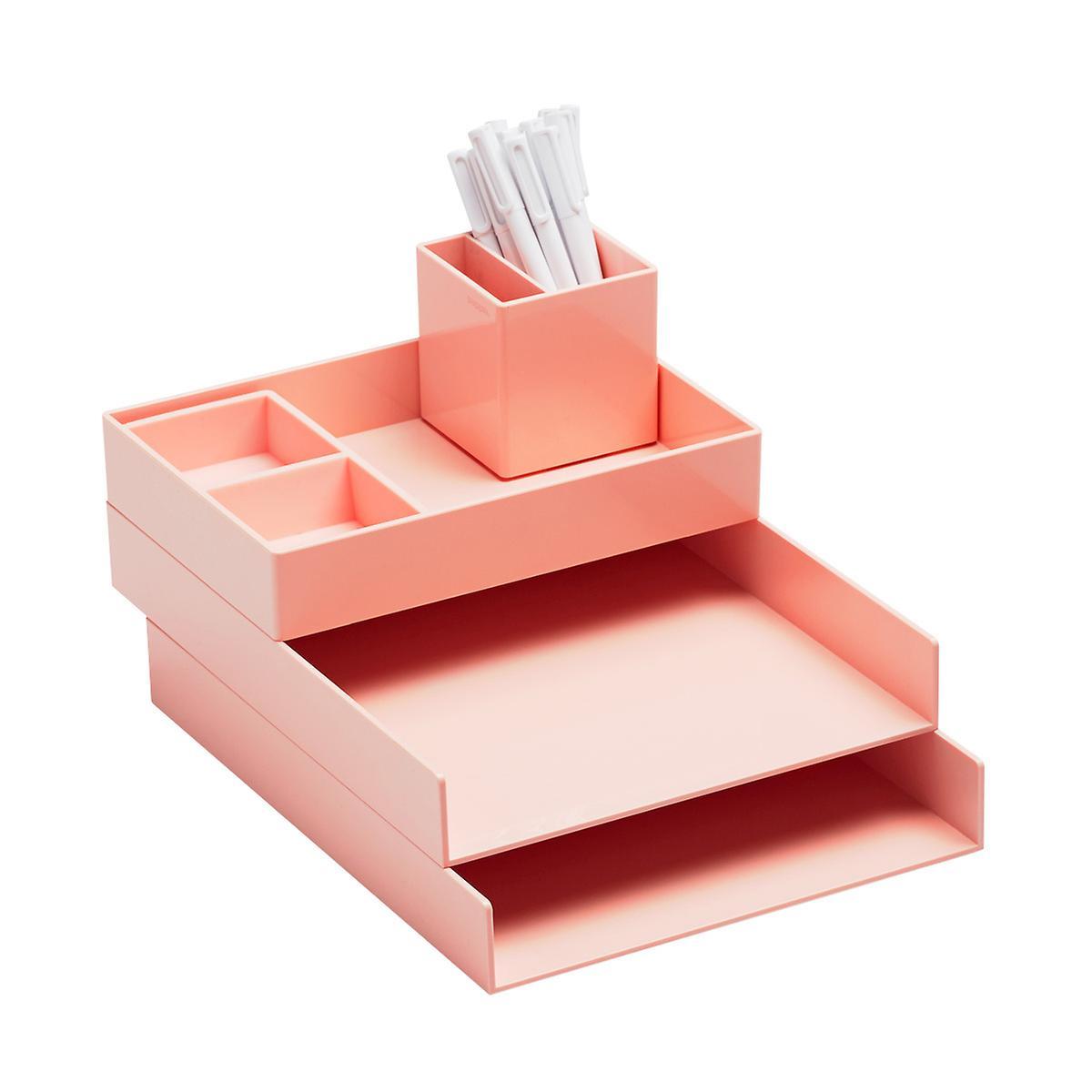 Blush Poppin Letter Tray Starter Kit