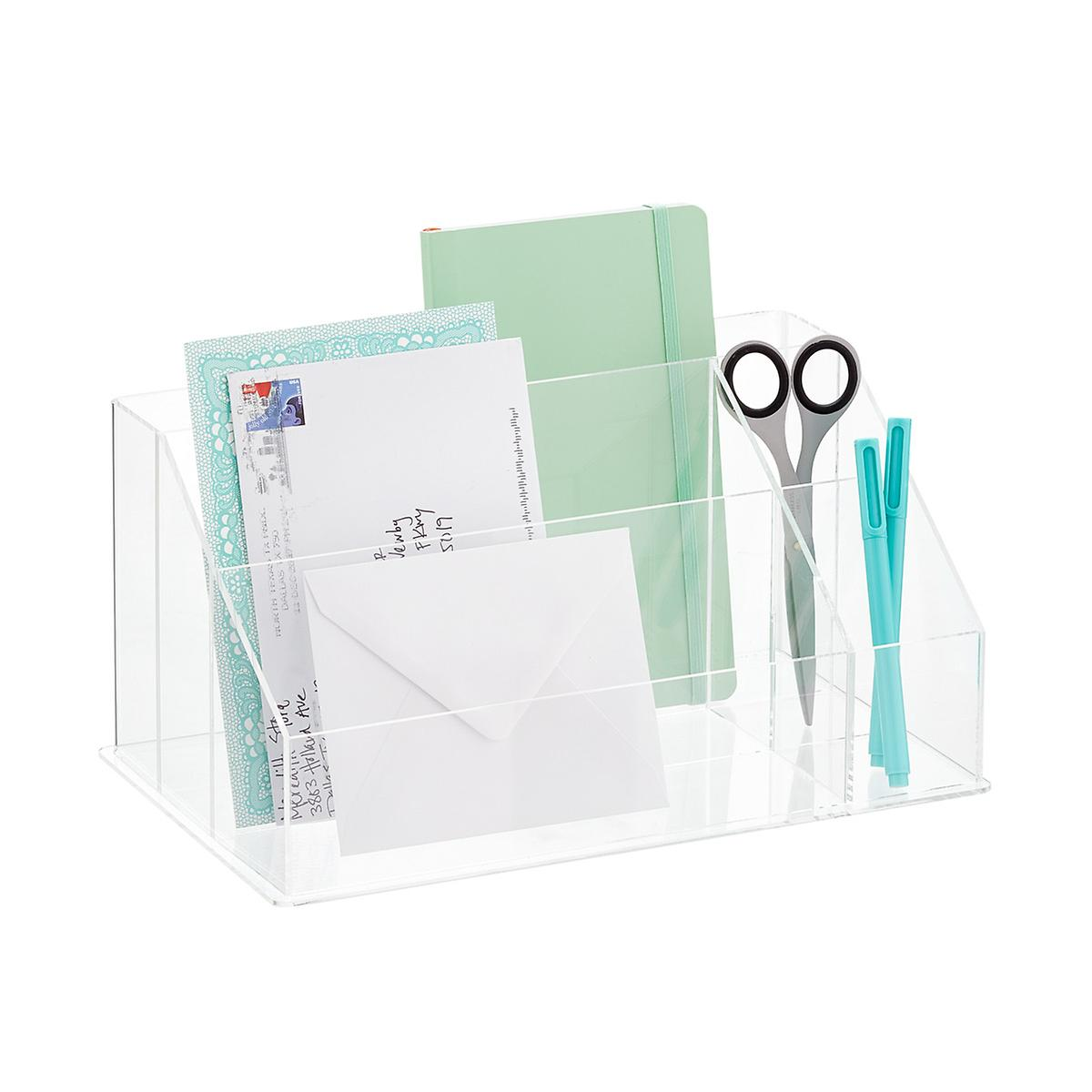 Acrylic Desktop Mail Center