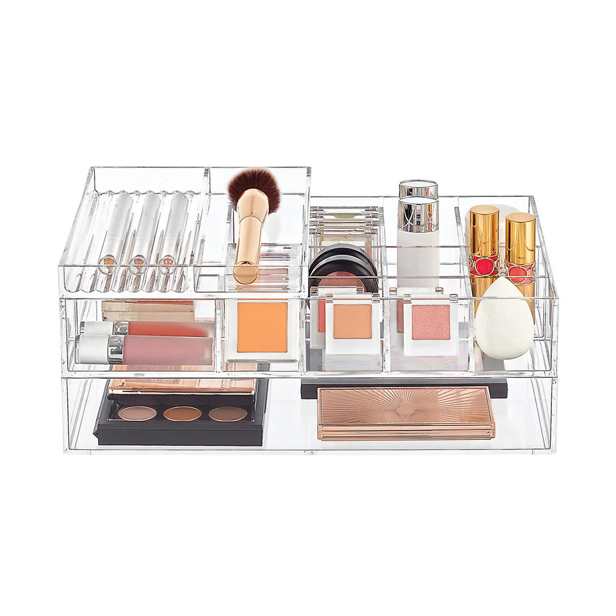 Clear Acrylic Makeup Storage Starter Kit