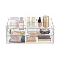 Clear Acrylic Makeup & Skin Care Storage Starter Kit Product Image