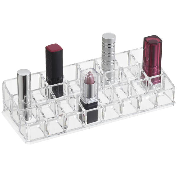 24-Section Acrylic Lipstick Riser