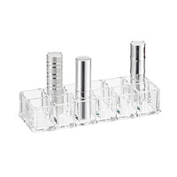 12-Section Acrylic Lipstick Riser