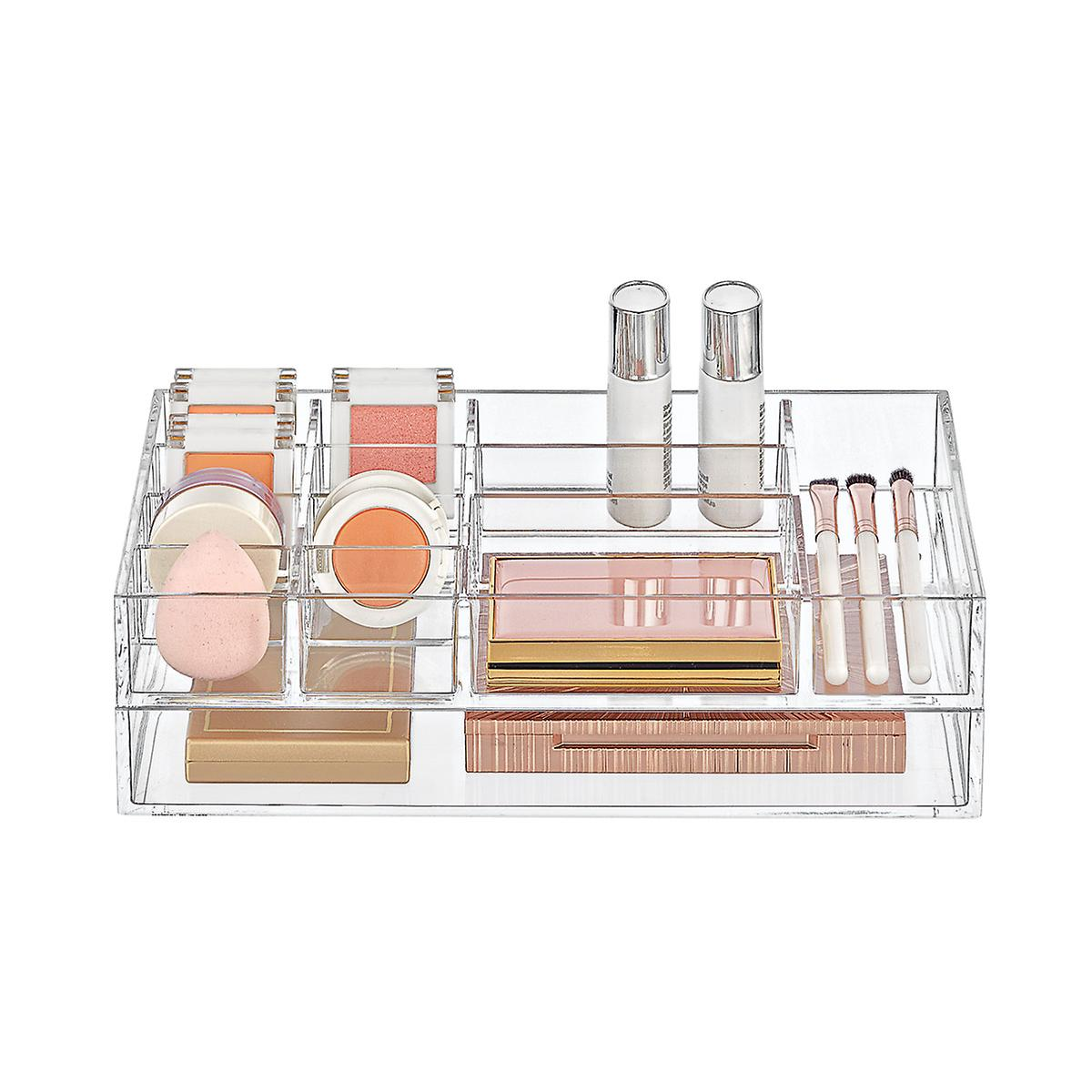 Clear Acrylic Small Makeup Storage Starter Kit
