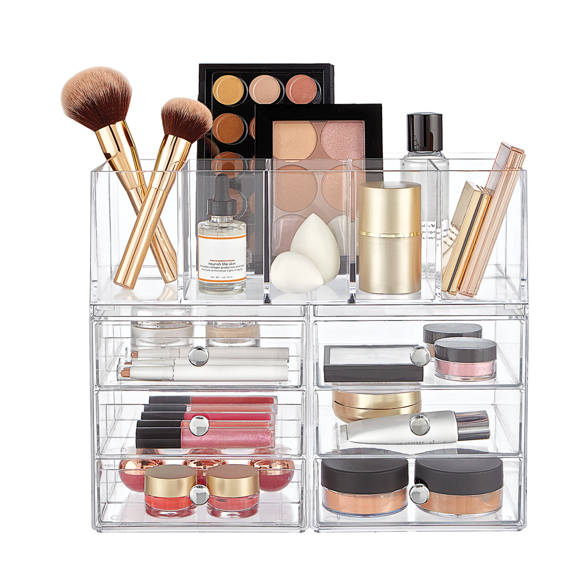 iDesign Clarity Makeup Storage Starter Kit