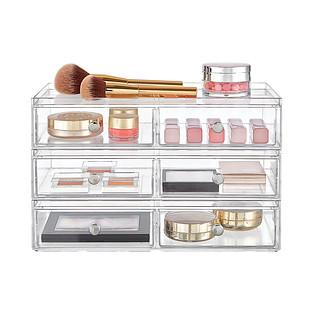 iDesign Clarity Makeup & Skincare Storage Starter Kit