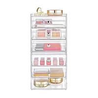 InterDesign Clarity 6-Drawer Makeup Storage Starter Kit Product Image