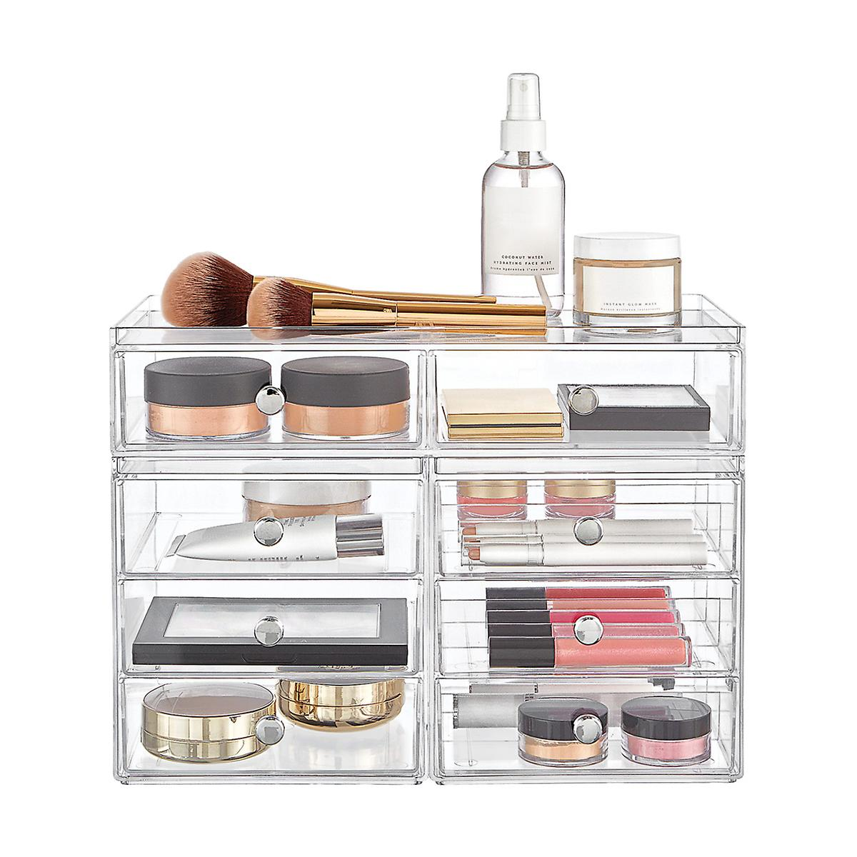 InterDesign Clarity Large Makeup Storage Starter Kit