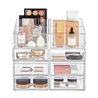 InterDesign Clarity Large Makeup & Skincare Storage Starter Kit Product Image