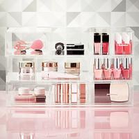 Luxe Acrylic Large Nail Polish & Makeup Storage Starter Kit Product Image