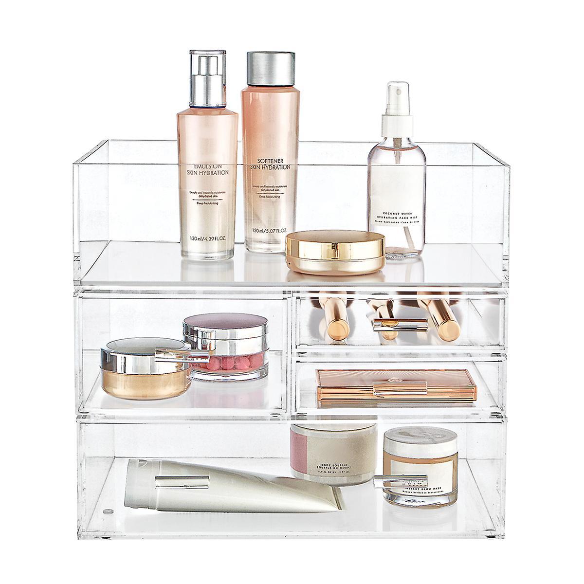Luxe Acrylic Makeup & Skincare Storage Starter Kit