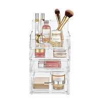 Luxe Acrylic Small Makeup Storage Starter Kit