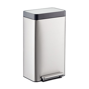 Kohler Stainless Steel 8 gal. Loft Step Trash Can