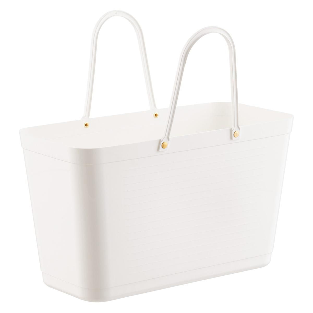 White Hinza Shopping Tote