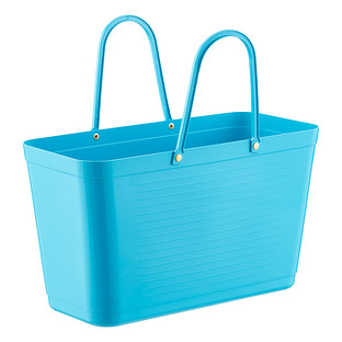 Turquoise Hinza Shopping Tote