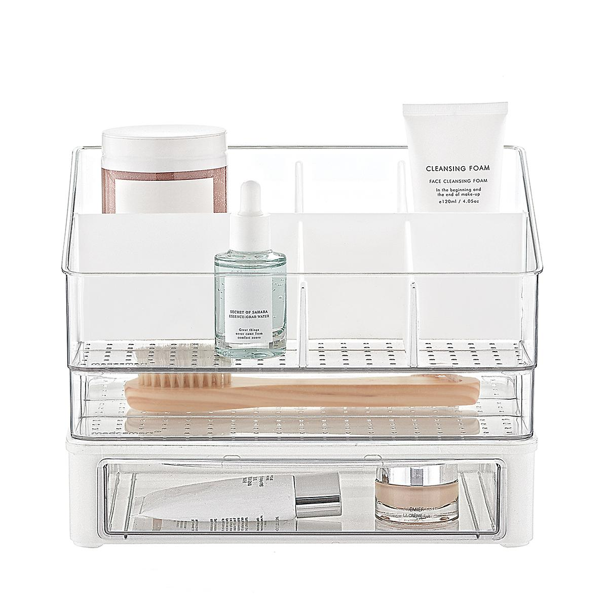 madesmart 1-Drawer Stacking Bath Storage Starter Kit