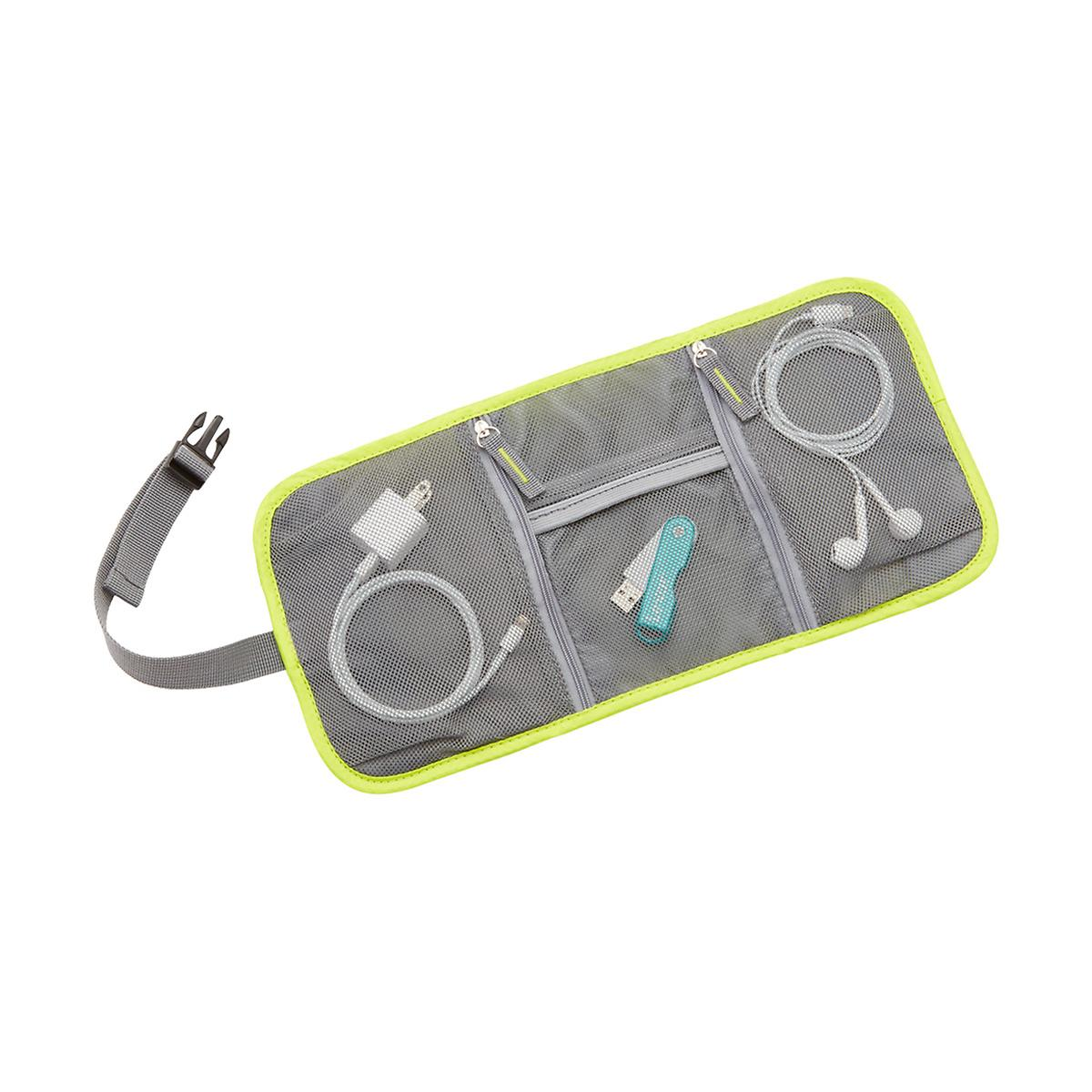 Travelon Lime Tech Accessory Organizer