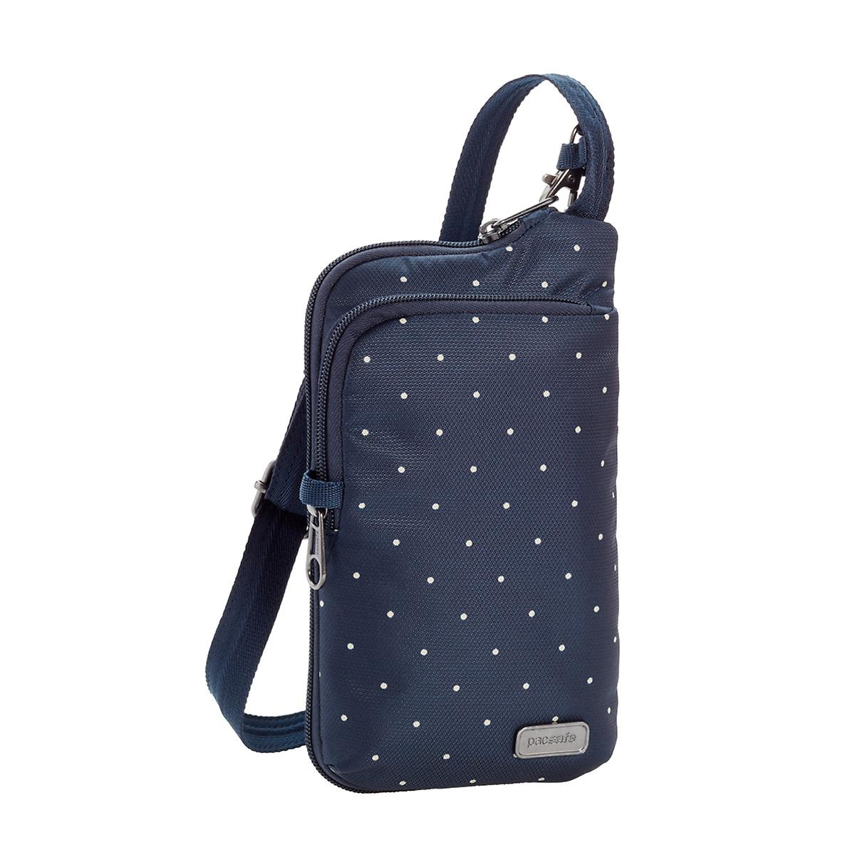 Pacsafe Navy Dots Daysafe Tech Crossbody