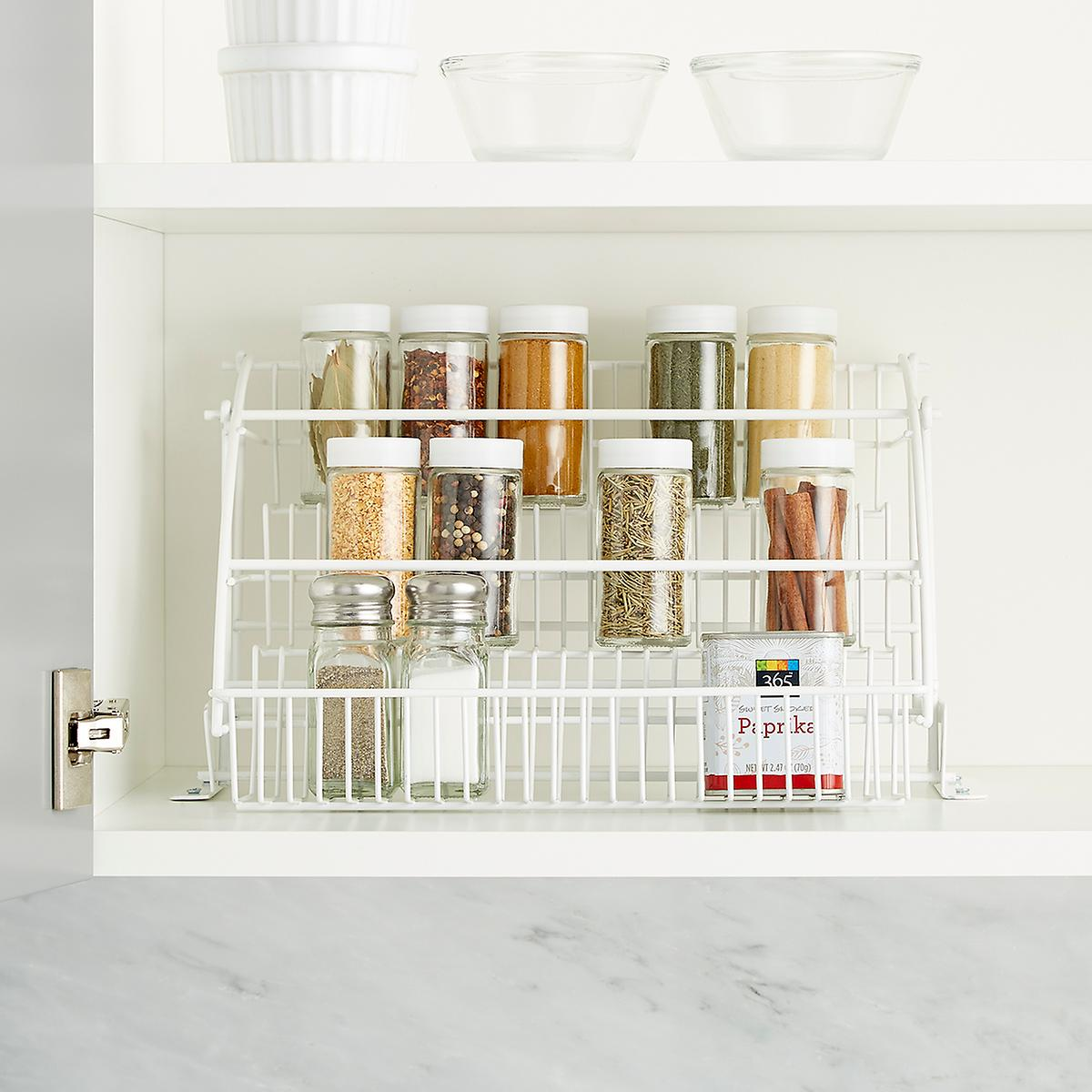 Pull-Down Spice Rack