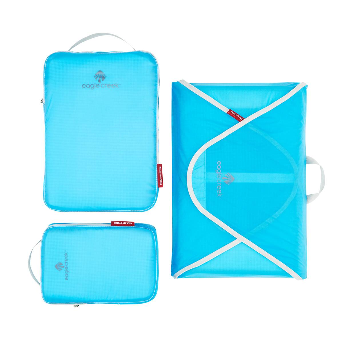 Eagle Creek Brilliant Blue Specter Pack-It Starter Set