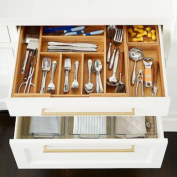 Drawer Organizers Utensil Holders Silverware Trays The