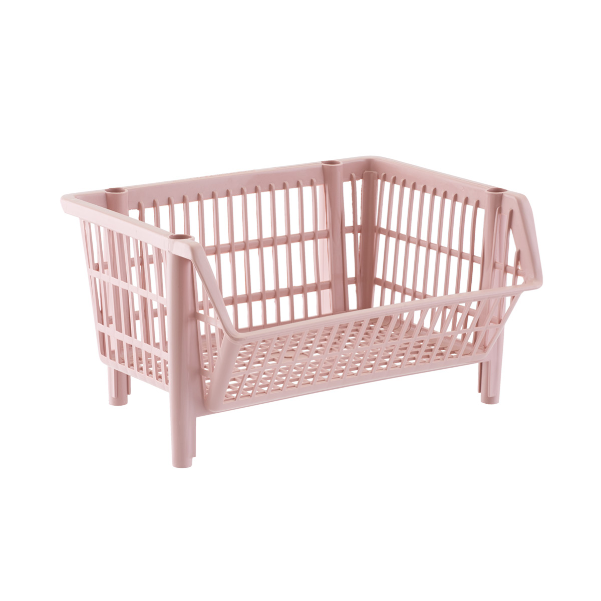 Our Basic Blush Stackable Basket