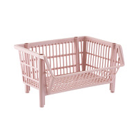Our Basic Blush Stackable Basket Product Image