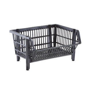 Our Basic Black Stackable Basket