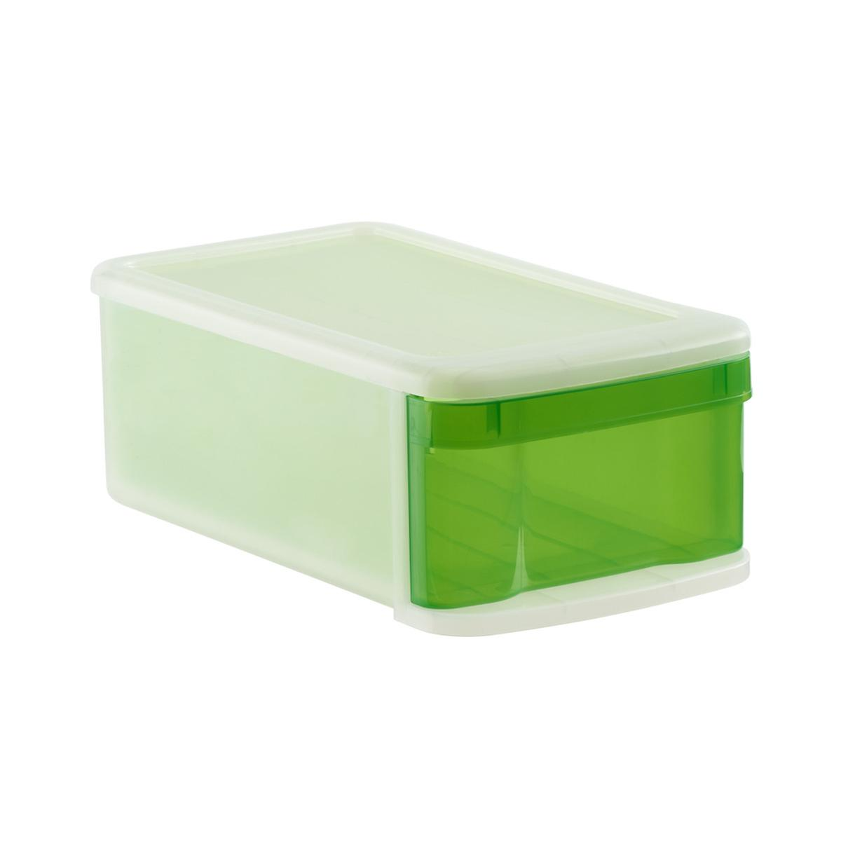 Small Tint Stackable Storage Drawer by Container Store