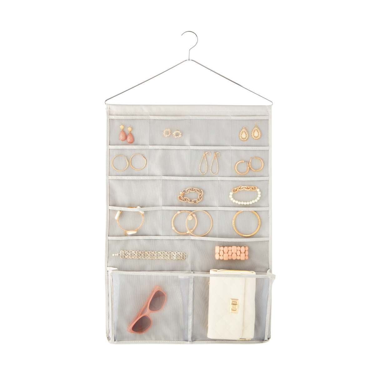 Umbra Grey Bestow Jewelry Organizer The Container Store
