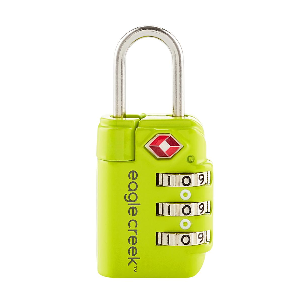 Eagle Creek Lime Green TSA Travel Safe Lock