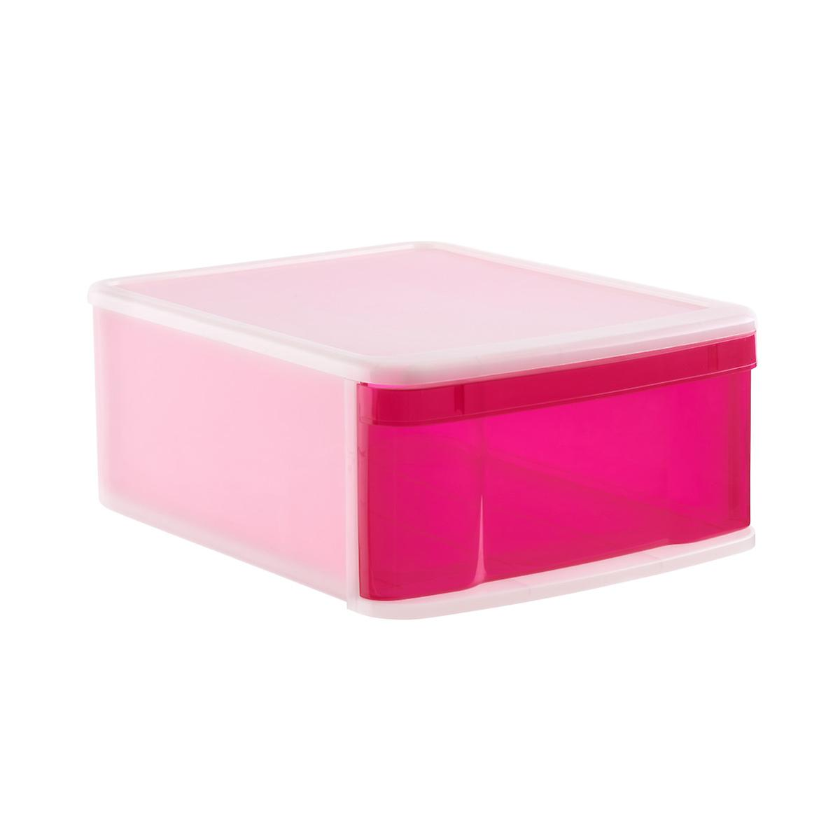 Large Tint Stackable Storage Drawer The Container Store