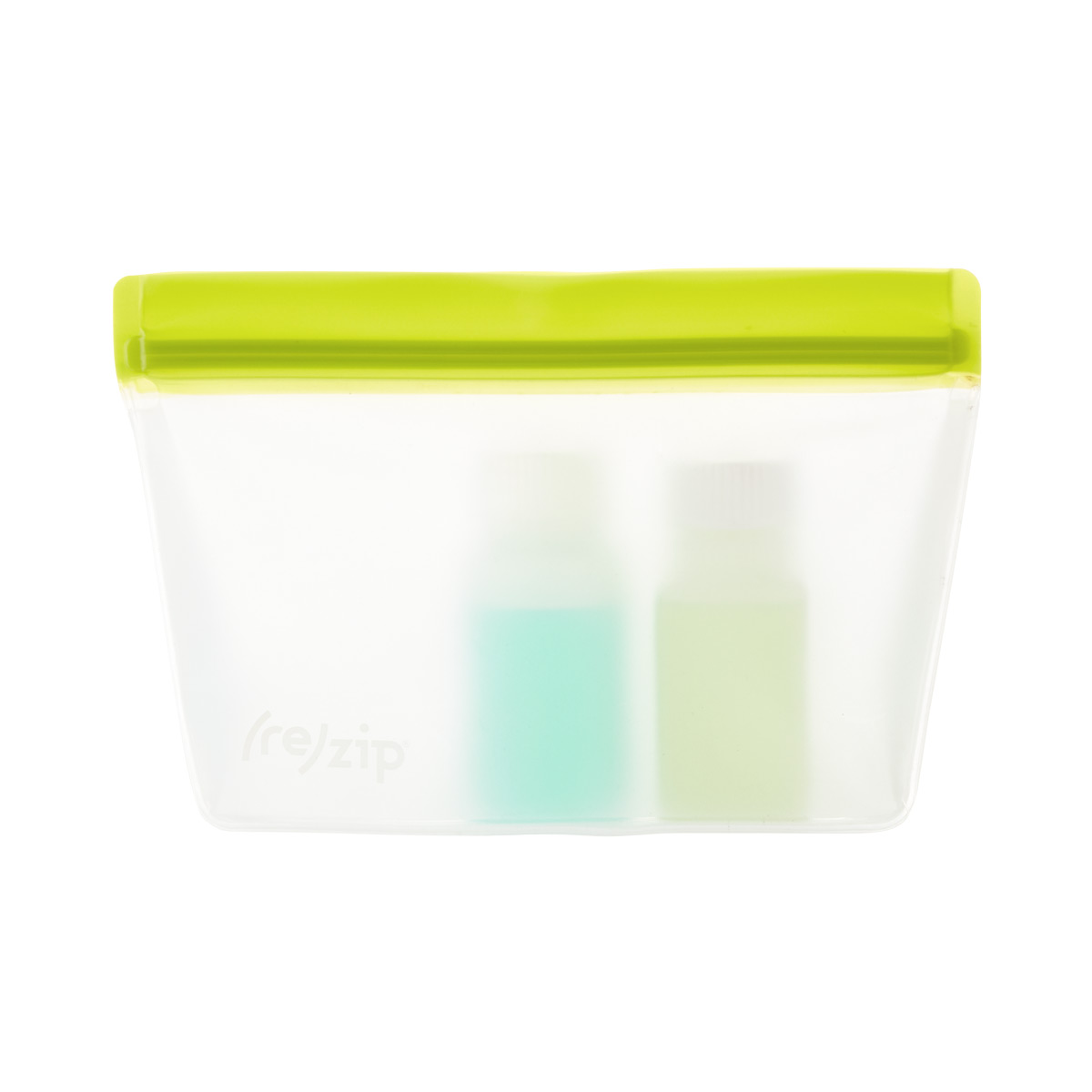 Re-Zip Reusable 2 Cup Green Storage Bag