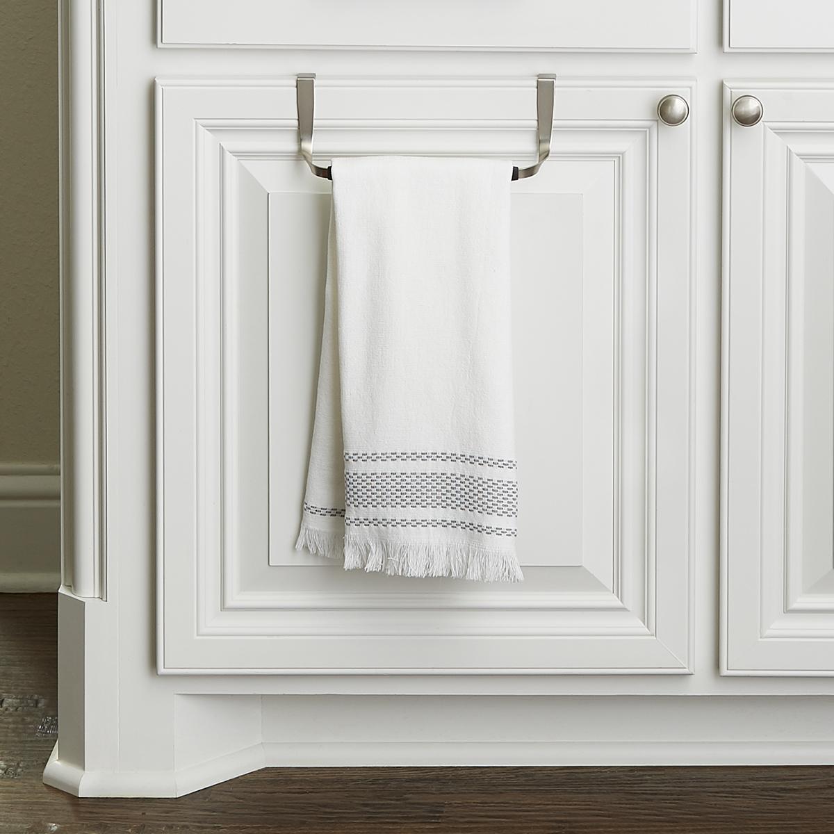 Schnook Overcabinet Towel Bar by Umbra